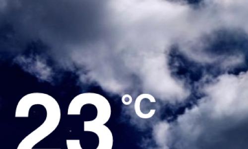 お天気iPhoneアプリ「気象ライブ」は雲の流れがとてもきれいだよ