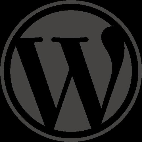 Wordpress logo notext rgb