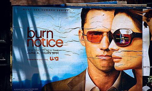 Huluでドラマ「バーン・ノーティス」を観終わったけど早く続きが観たいよ