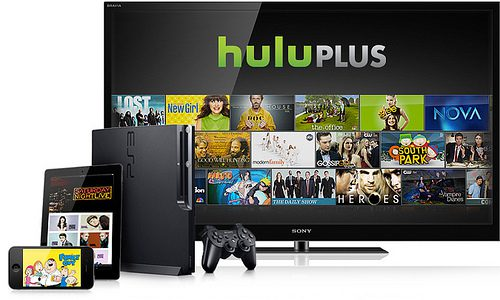 Huluって違う2つのデバイスで同時視聴が出来るようだよ