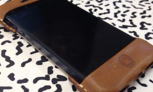 「Roberu」のiPhone5ケースはスゴくカッコよくて、次の機種変まで使い続けて経年変化を楽しむことにするよ