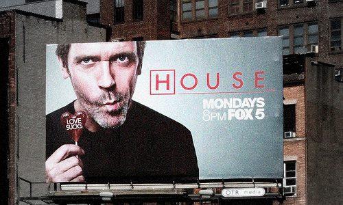 Huluに収められている米ドラマ「Dr.HOUSE」の6シーズン分を観終わったよ